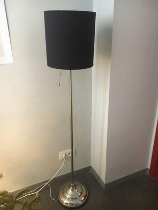 Lámpara salón gris