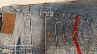 Tejano Armani Jeans A ESTRENAR. NUEVO