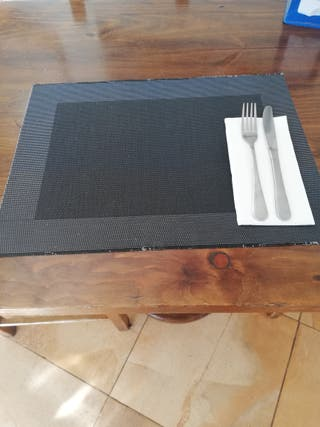 manteles individuales para restaurante o bar