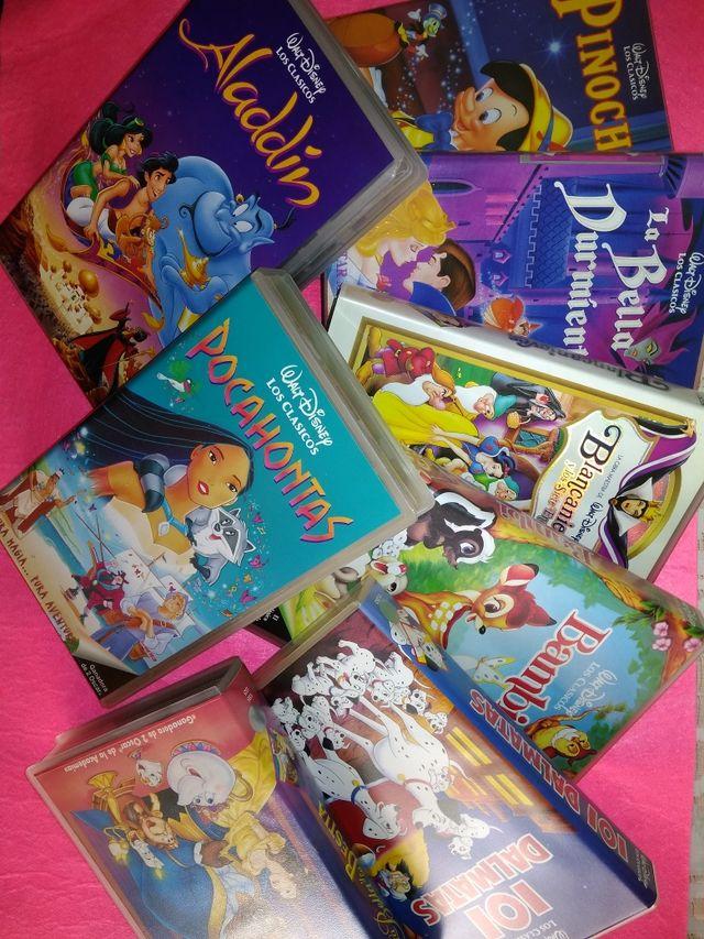Películas VHS originales Disney (8)
