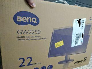 Monitor Benq Full HD 22 pulgadas GW2250. Con caja