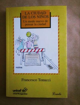 """Libro: """"La ciudad de los niños"""""""