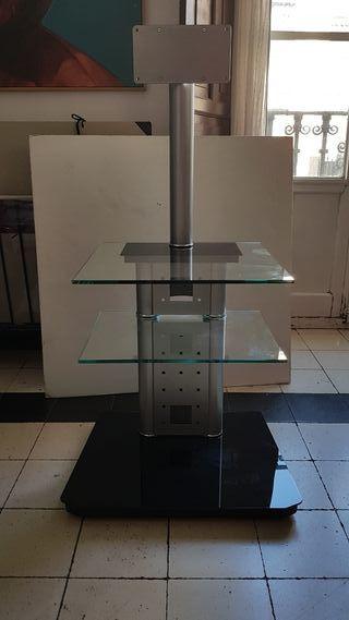 Mesa televisión alta calidad con soporte aéreo