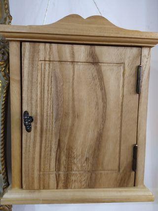 armario para llaves de madera maziza, nuevo