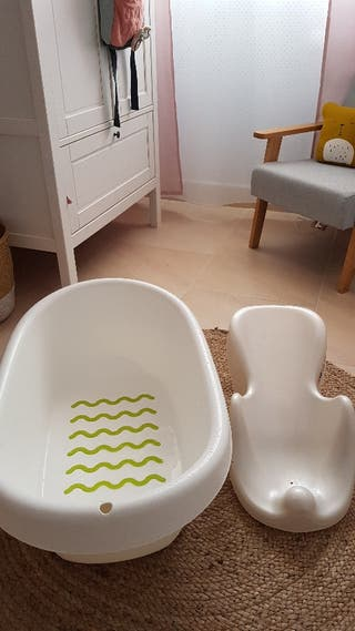 bañera + hamaca bebé