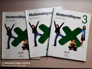 Libro de texto de Matemáticas 3 primaria
