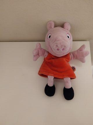 marioneta peluche Peppa Pig