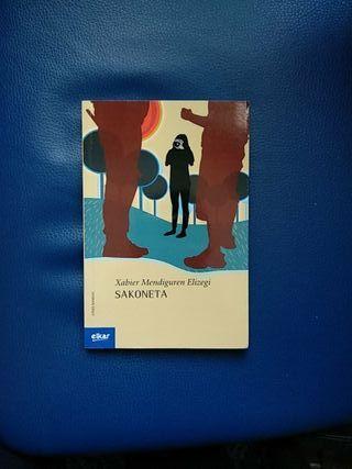 Libro euskera Sakoneta