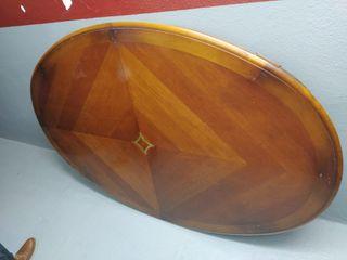 Mesa de madera mazizo de cerezo + sillas