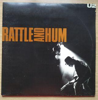 Disco de Vinilo Doble U2 Rattle And Hum