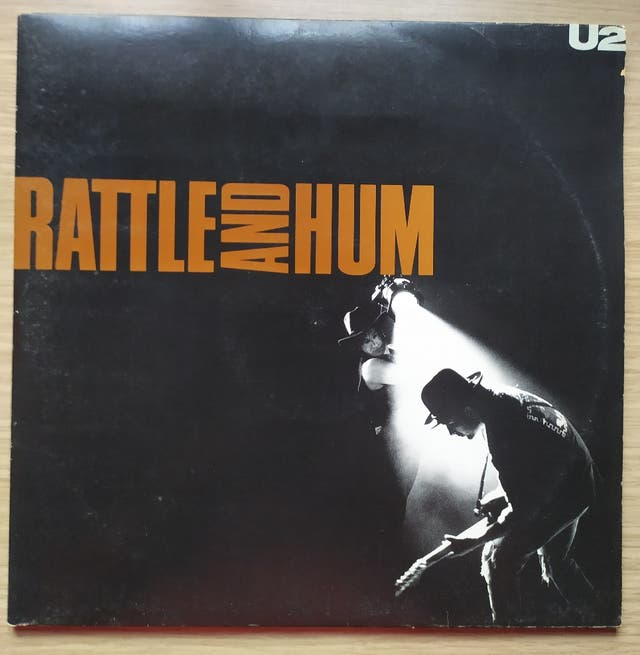 Disco de Vinilo Doble U2 Rattle And Hum