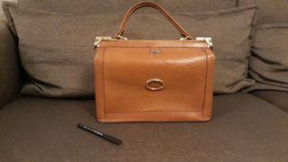 Bolso vintage tipo maletín médico