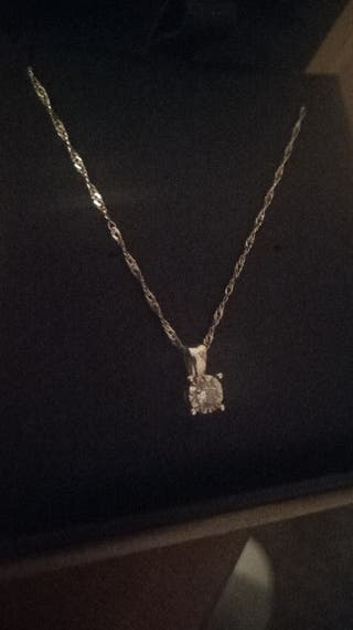 Fraser Hart Necklace Diamond 9ct White Gold