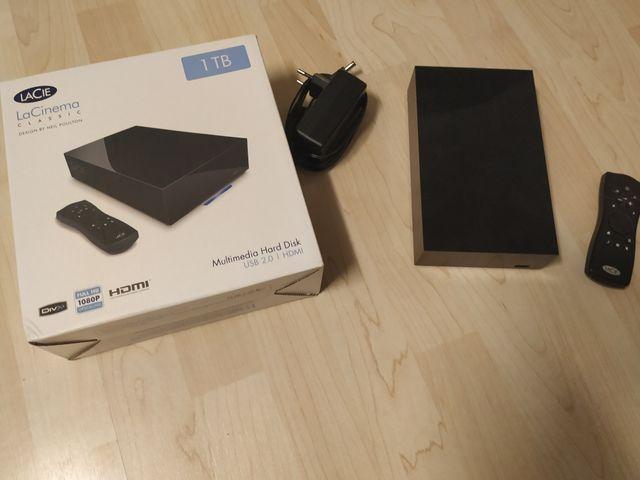 Disco duro multimedia 500 Gb