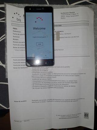 Nuevo BQ Aquaris X5 Cyanogen 16GB