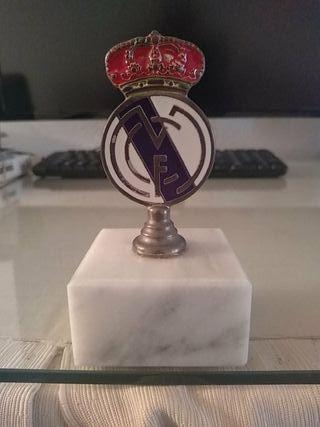 Antiguo Trofeo Con Insignia Escudo del Real Madrid