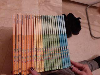 Encicopledias y DVDs con contenido de primaria