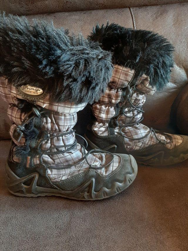 anorak esquí Roxy + botas nieve 34