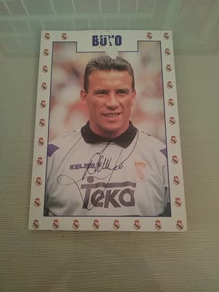Postal Paco Buyo Año 95