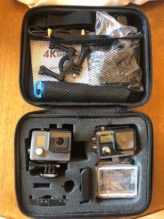 Gopro Hero+LCD y cámara Andoer 4k
