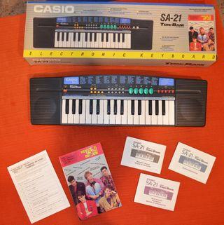 Teclado organo marca Casio SA-21