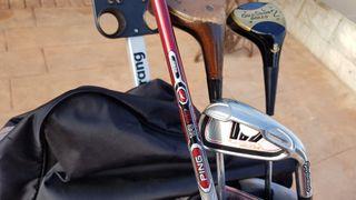 vendo palos,bolsa y carro de golf