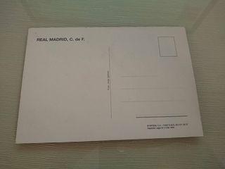 Postal Laudrup Real Madrid CF