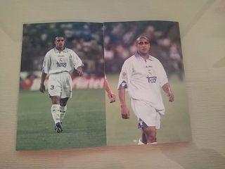 2 Fotos de Roberto Carlos Real Madrid CF