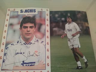 Postal y Foto de Sánchis Real Madrid CF