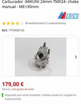 Carburador 24mm Mikuni