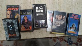 Pack de peliculas VHS