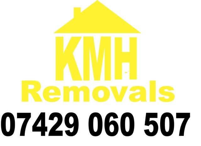KMH Removals, Man with a Van, courier, Transport