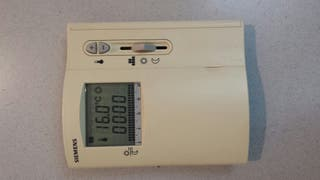 crono termostato programable siemens