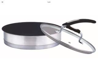 Stainless Steel Salute Frying Pan Non Stick
