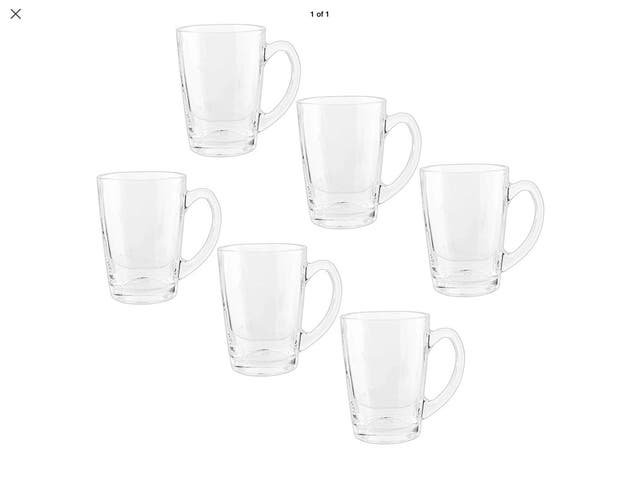 Royal Cuisine Set of 6 Tea Coffee Cups