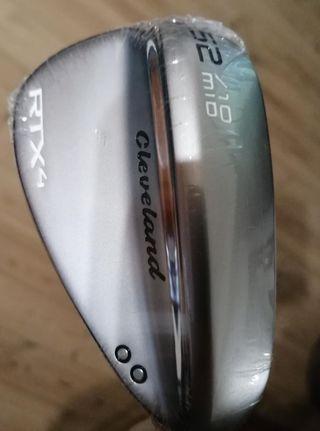 ¡¡REBAJADO!! Palo Golf WEDGE CLEVELAND RTX4 52º