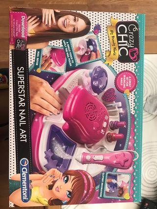 Set de manicura niñas juguete