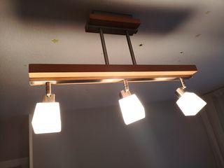 Juego lámparas dormitorio.