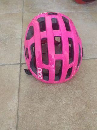 casco POC octal raceday nuevo rosa.