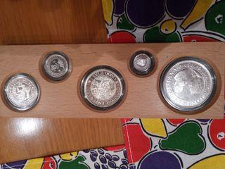 monedas de plara