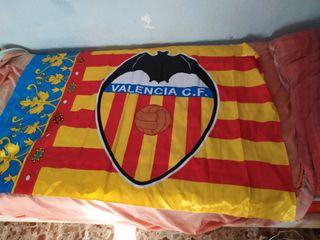 Bandera senyera Valencia CF