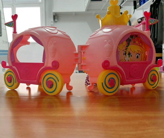 carroza princesa pin y pon