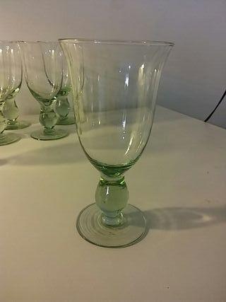 Copas vidrio reciclado