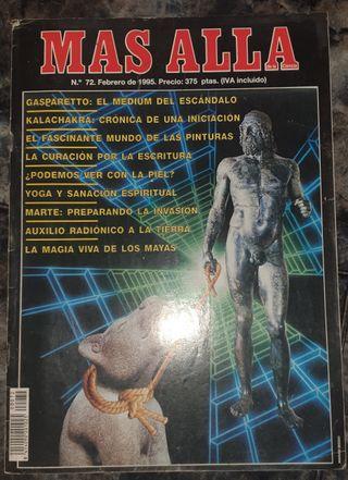Revista Más Allá Nº 72. Año 1995