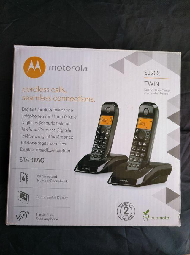 DUO TELEFONOS INALAMBRICOS