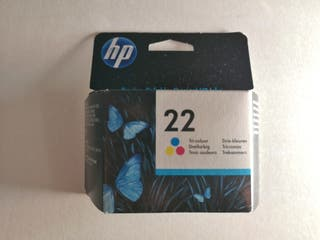 Cartucho tinta original HP 22