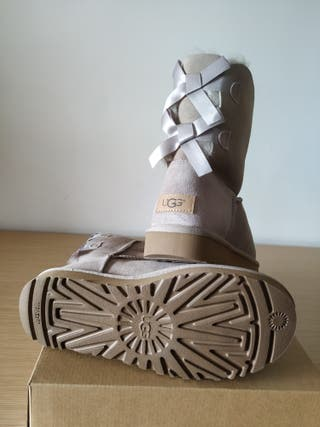 Ugg w Bailey Bow II Color oyster