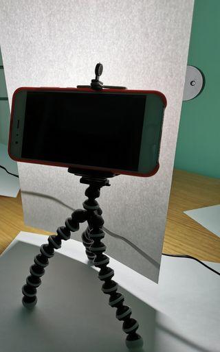 Pack palo selfie con mando a distancia y tripode