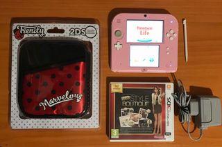 Ideal regalo consola Nintendo 2 Ds lote