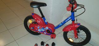 bici 14 pulgadas decathlon.